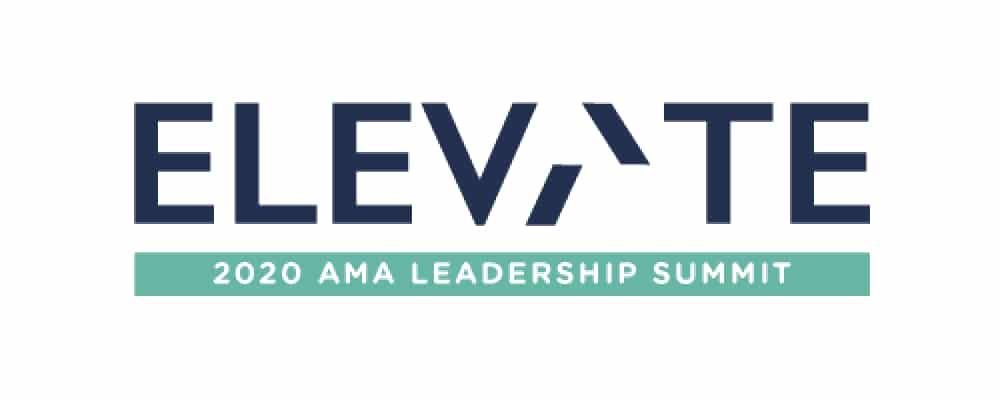 image of AMA leadership summit graphic